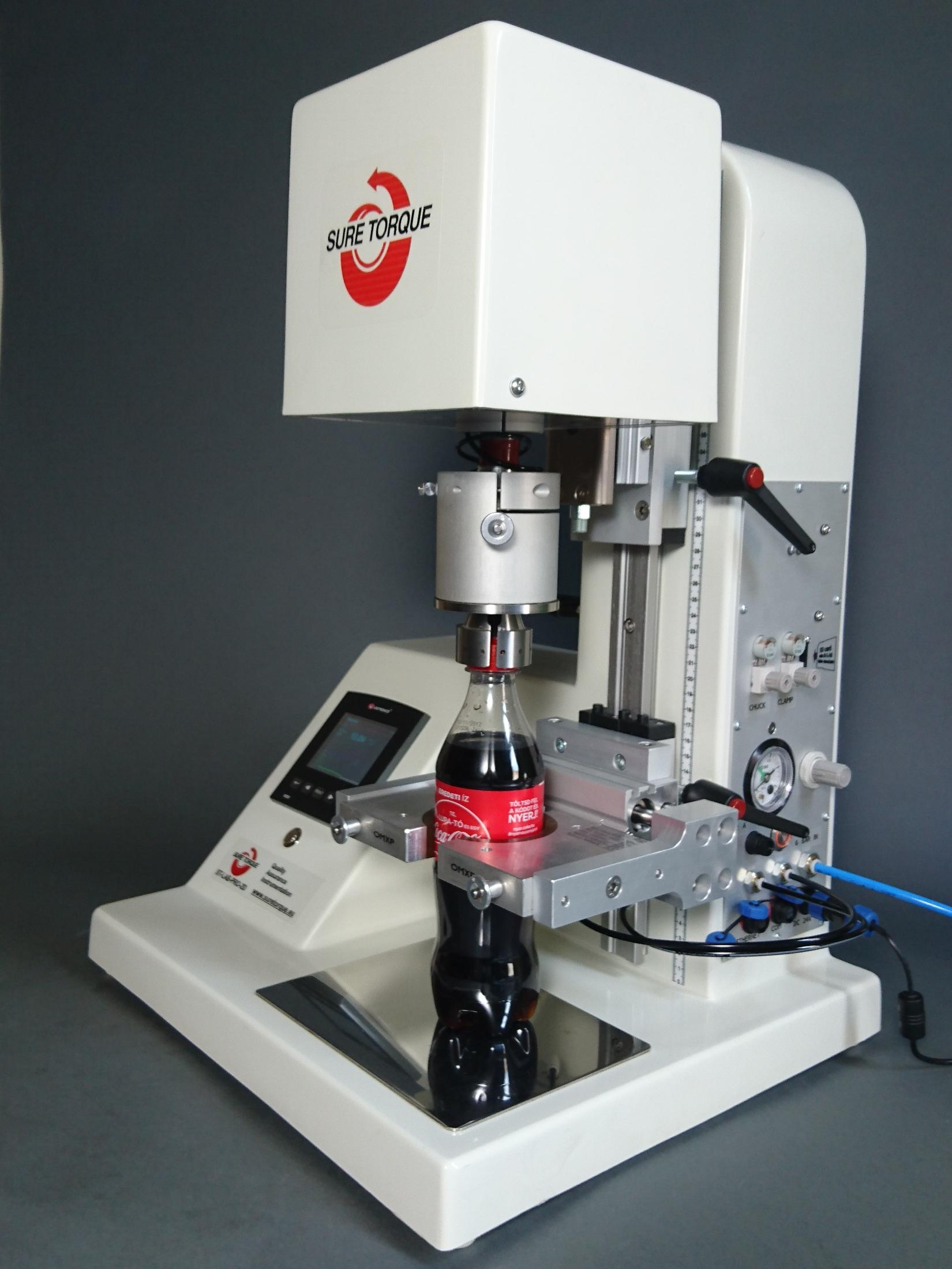 Automatic Cap Torque Tester - ST-LAB-PRO2D