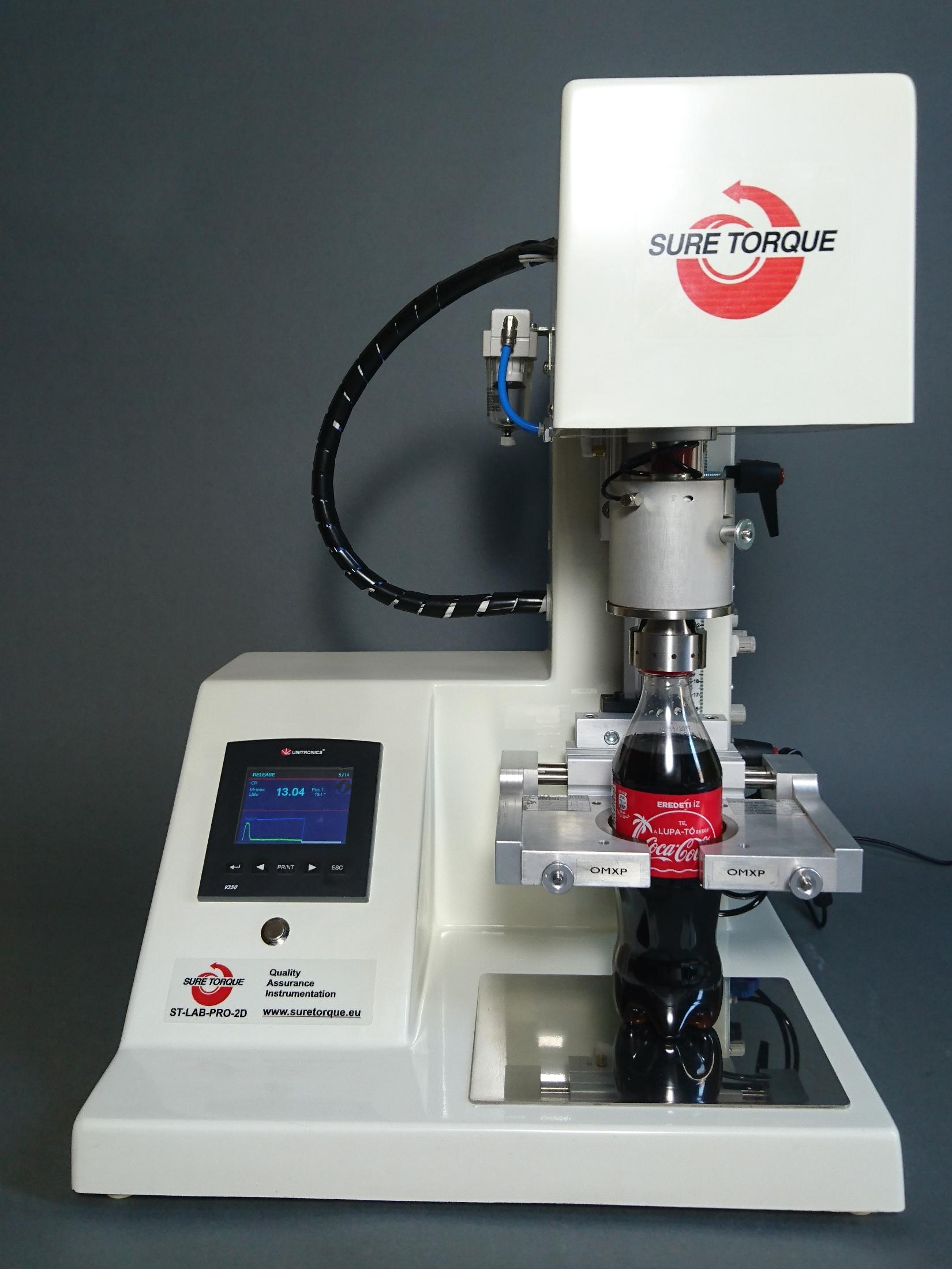 Automatic Cap Torque Tester - ST-LAB_PRO2D